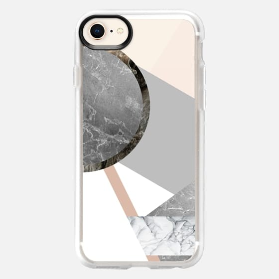 Marble Combination - Snap Case