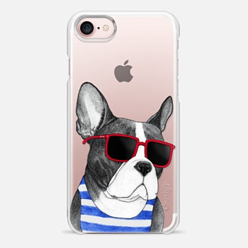 iPhone 7 Case Frenchie Summer Style