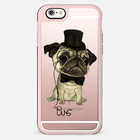Gentle Pug (wood) - New Standard Case