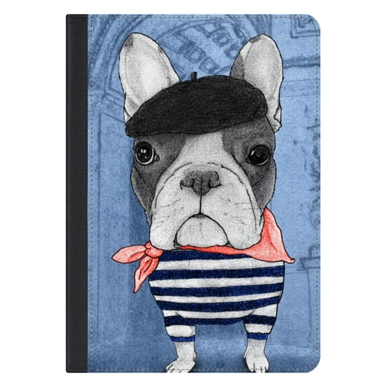 10.5-inch iPad Pro Covers - Frenchie with Arc de Triomphe