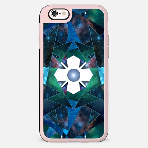 Abstract Galaxy Flower - New Standard Case