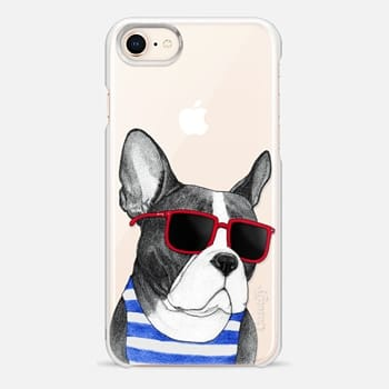 iPhone 8 Case Frenchie Summer Style