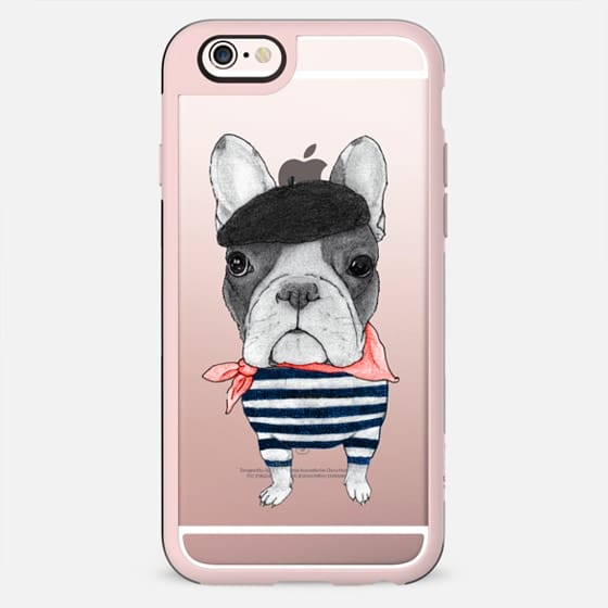 French Bulldog (wood) - New Standard Case