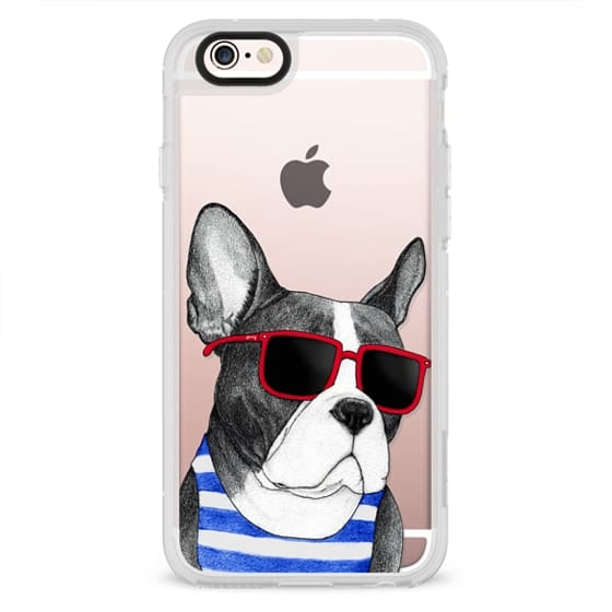 iPhone 4 Cases - Frenchie Summer Style