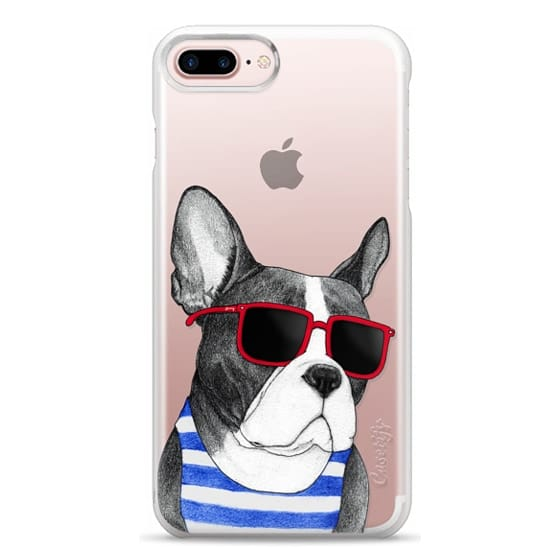 iPhone 7 Plus Cases - Frenchie Summer Style