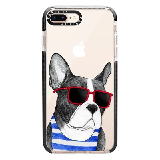 iPhone 8 Plus Cases - Frenchie Summer Style