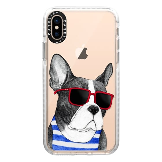 iPhone XS Cases - Frenchie Summer Style
