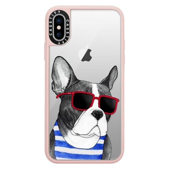 iPhone X Cases - Frenchie Summer Style