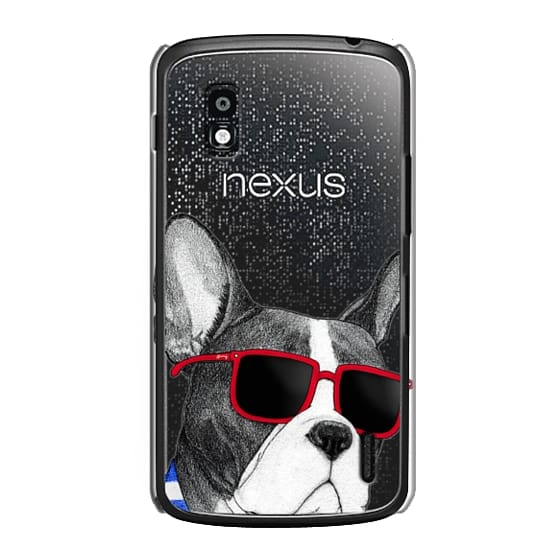 Nexus 4 Cases - Frenchie Summer Style