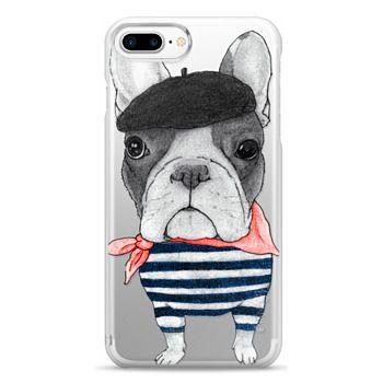 Snap iPhone 7 Plus Case - French Bulldog (transparent)