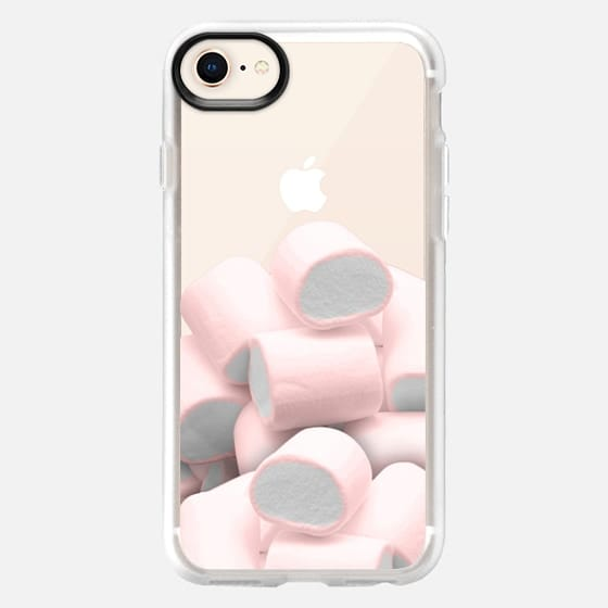 I dream on sweet pink marshmallows - Snap Case