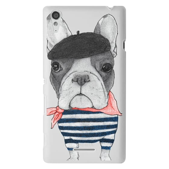 Sony T3 Cases - French Bulldog (transparent)