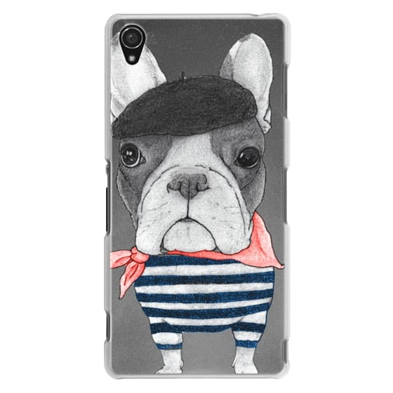 Sony Z3 Cases - French Bulldog (transparent)