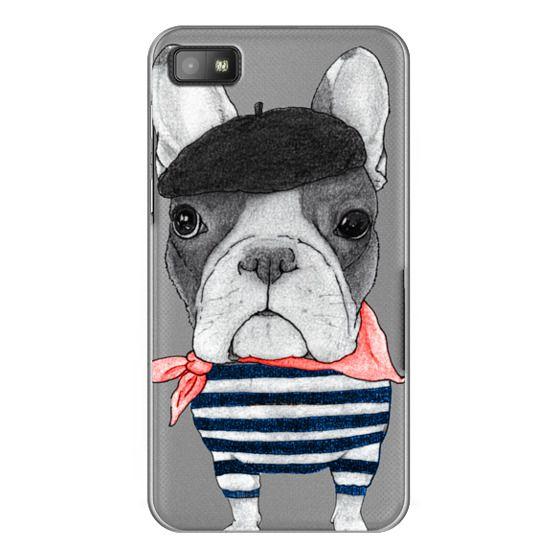 Blackberry Z10 Cases - French Bulldog (transparent)