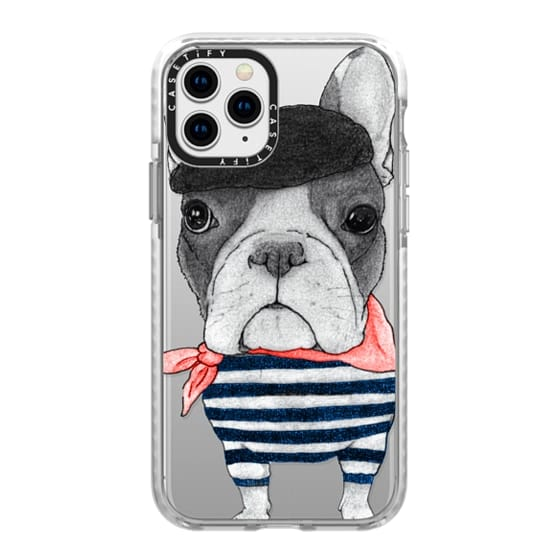 iPhone 11 Pro Cases - French Bulldog (transparent)