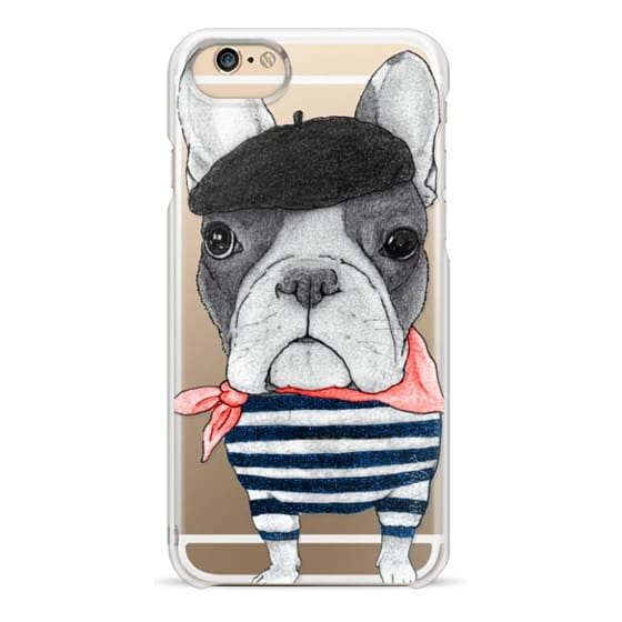 iPhone 6 Cases - French Bulldog (transparent)