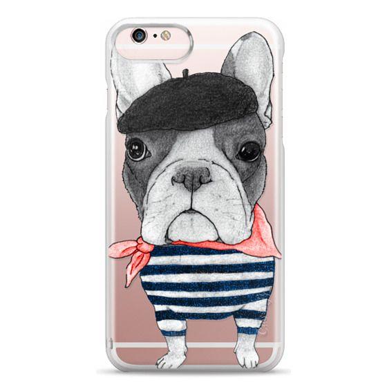 iPhone 6s Plus Cases - French Bulldog (transparent)