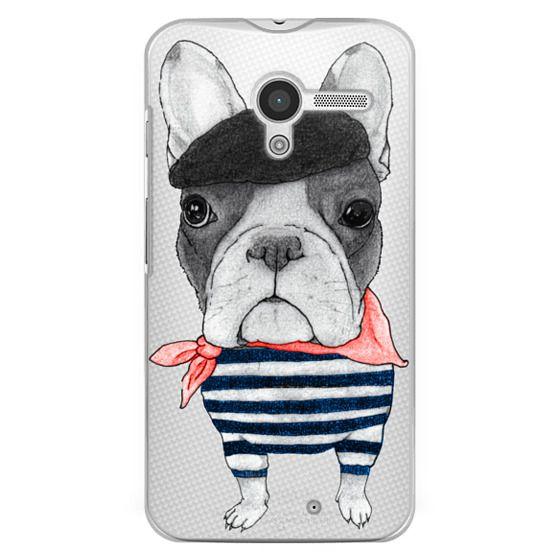 Moto X Cases - French Bulldog (transparent)