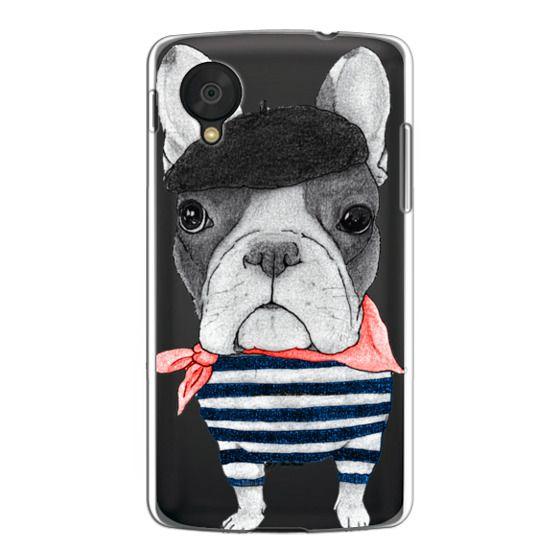 Nexus 5 Cases - French Bulldog (transparent)