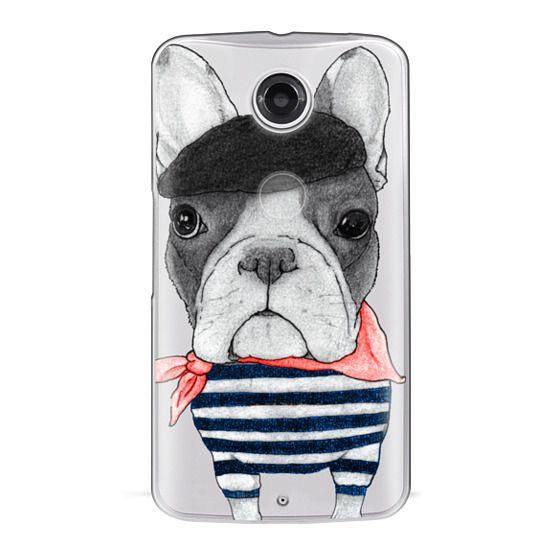 Nexus 6 Cases - French Bulldog (transparent)