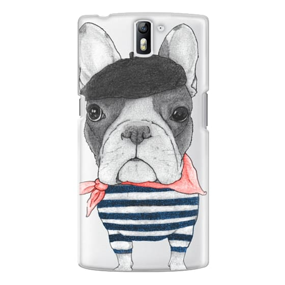 One Plus One Cases - French Bulldog (transparent)