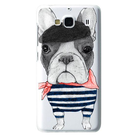 Redmi 2 Cases - French Bulldog (transparent)