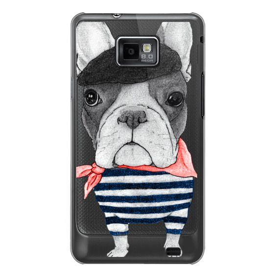 Samsung Galaxy S2 Cases - French Bulldog (transparent)