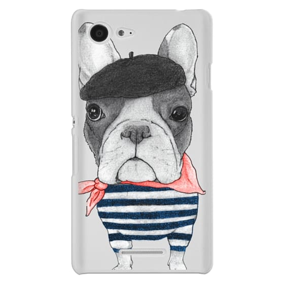 Sony E3 Cases - French Bulldog (transparent)