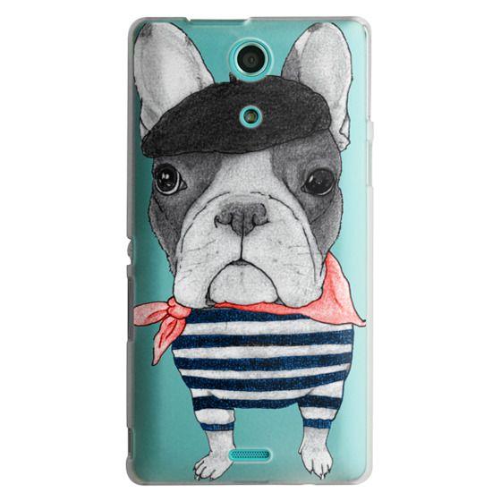 Sony Zr Cases - French Bulldog (transparent)