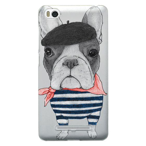 Xiaomi 4i Cases - French Bulldog (transparent)