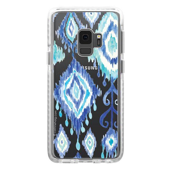 impact galaxy s9 hlle boho blue ikat - Galaxy Muster