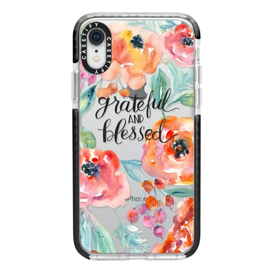 iPhone XR Cases - Grateful and Blessed