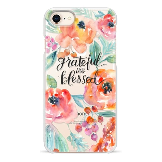iPhone 8 Cases - Grateful and Blessed