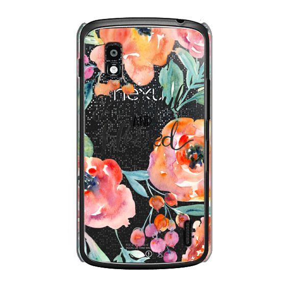 Nexus 4 Cases - Grateful and Blessed
