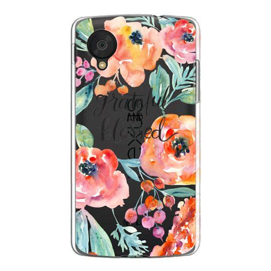 Nexus 5 Cases - Grateful and Blessed