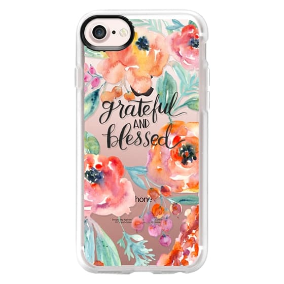 iPhone 7 Cases - Grateful and Blessed