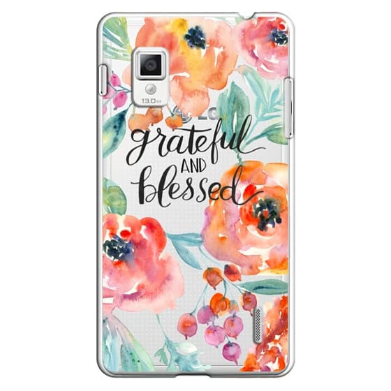 Optimus G Cases - Grateful and Blessed