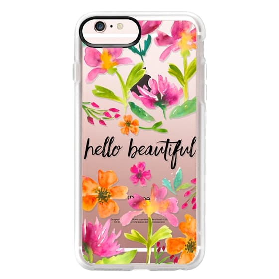 iPhone 6s Plus Cases - Hello Beautiful Floral