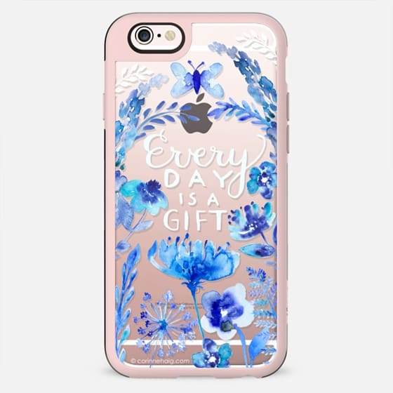 Every Day is a Gift Indigo - New Standard Case