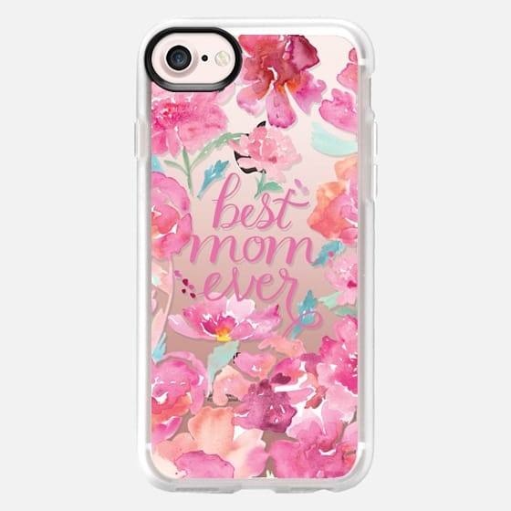 Best Mom Ever Peonies - Classic Grip Case