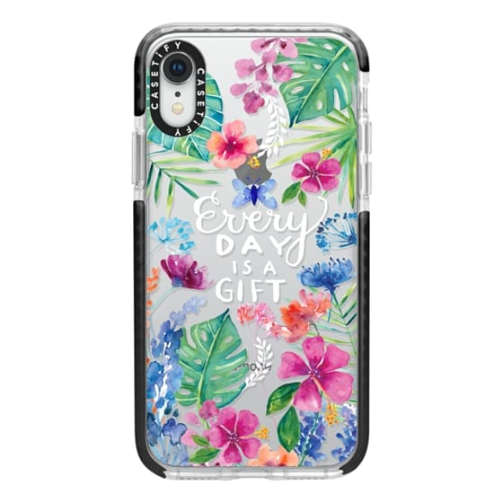 iPhone XR Cases - Every Day is a Gift Tropical