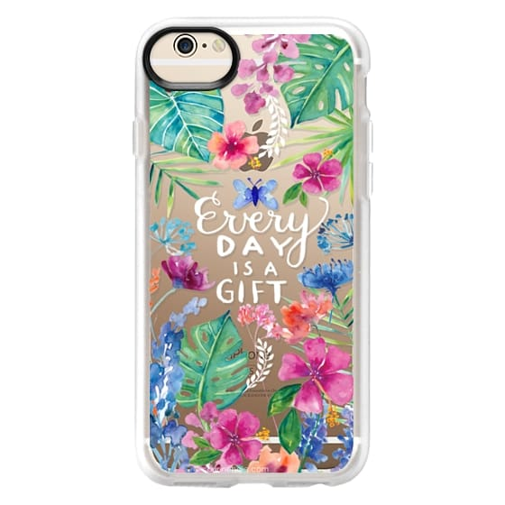 iPhone 6 Cases - Every Day is a Gift Tropical