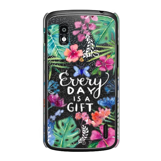 Nexus 4 Cases - Every Day is a Gift Tropical