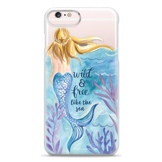 iPhone 6s Plus Cases - Wild and Free Mermaid Blond