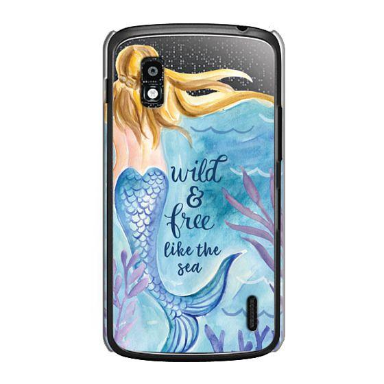 Nexus 4 Cases - Wild and Free Mermaid Blond