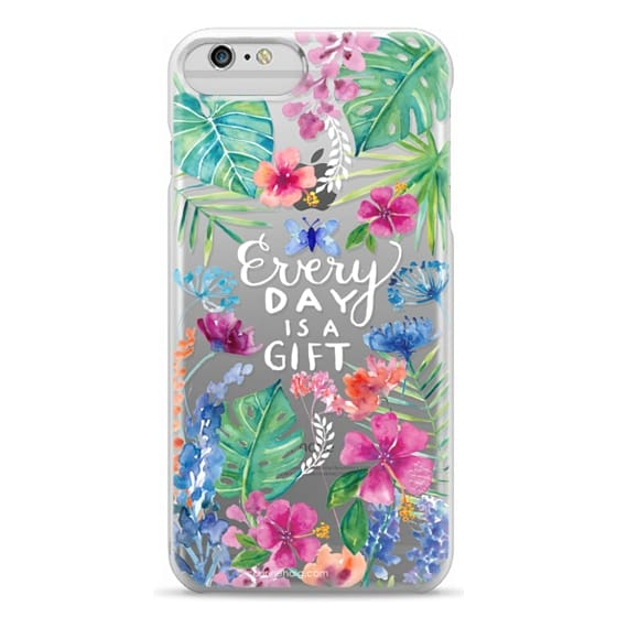 iPhone 6 Plus Cases - Every Day is a Gift Tropical