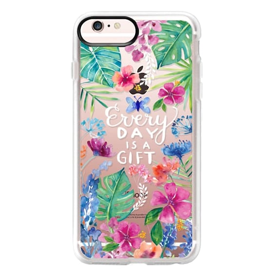 iPhone 6s Plus Cases - Every Day is a Gift Tropical