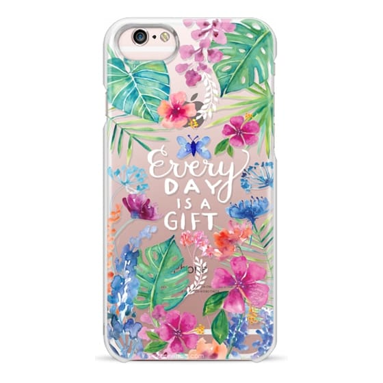 iPhone 6s Cases - Every Day is a Gift Tropical