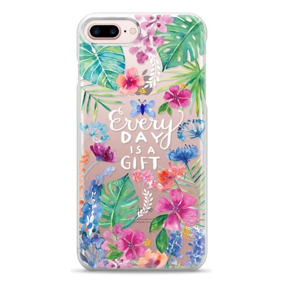 iPhone 7 Plus Cases - Every Day is a Gift Tropical