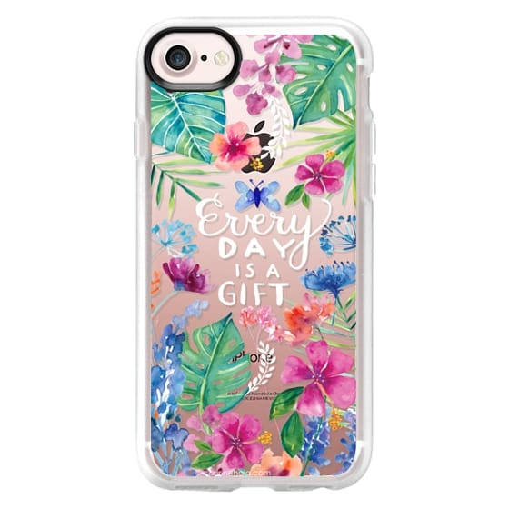 iPhone 7 Cases - Every Day is a Gift Tropical